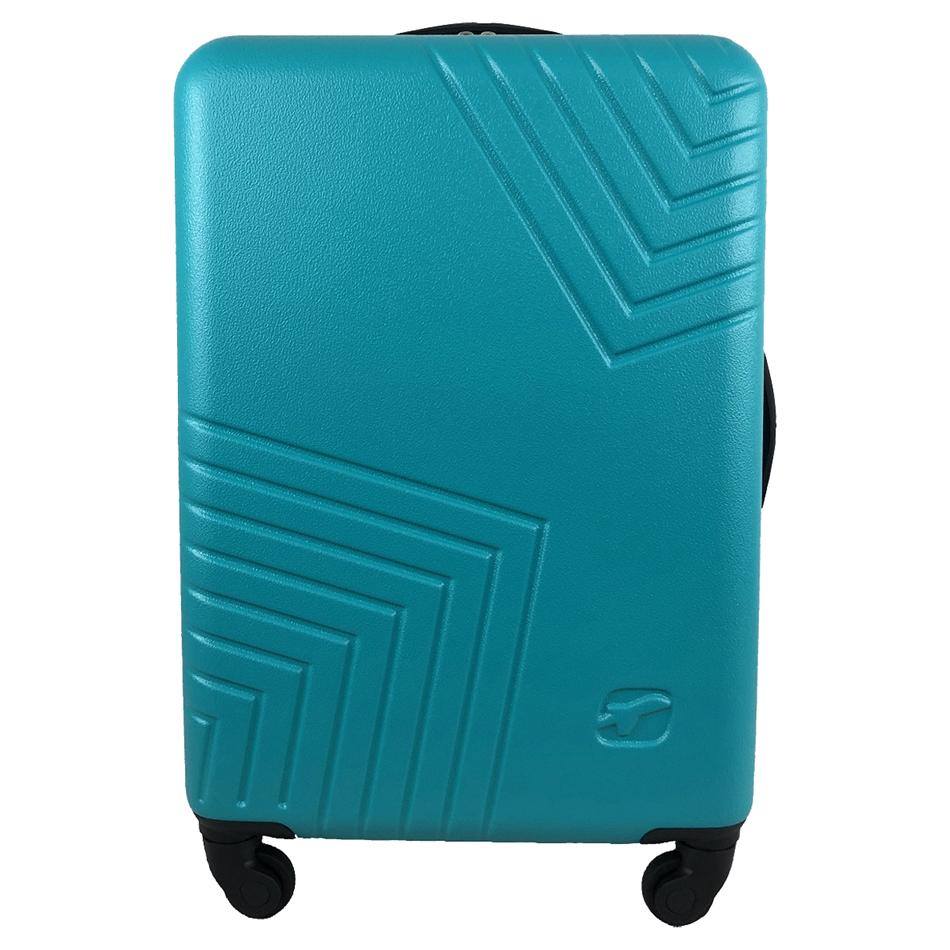 Чемодан Airport DISCO блакитний, 4 колеса, 70 см