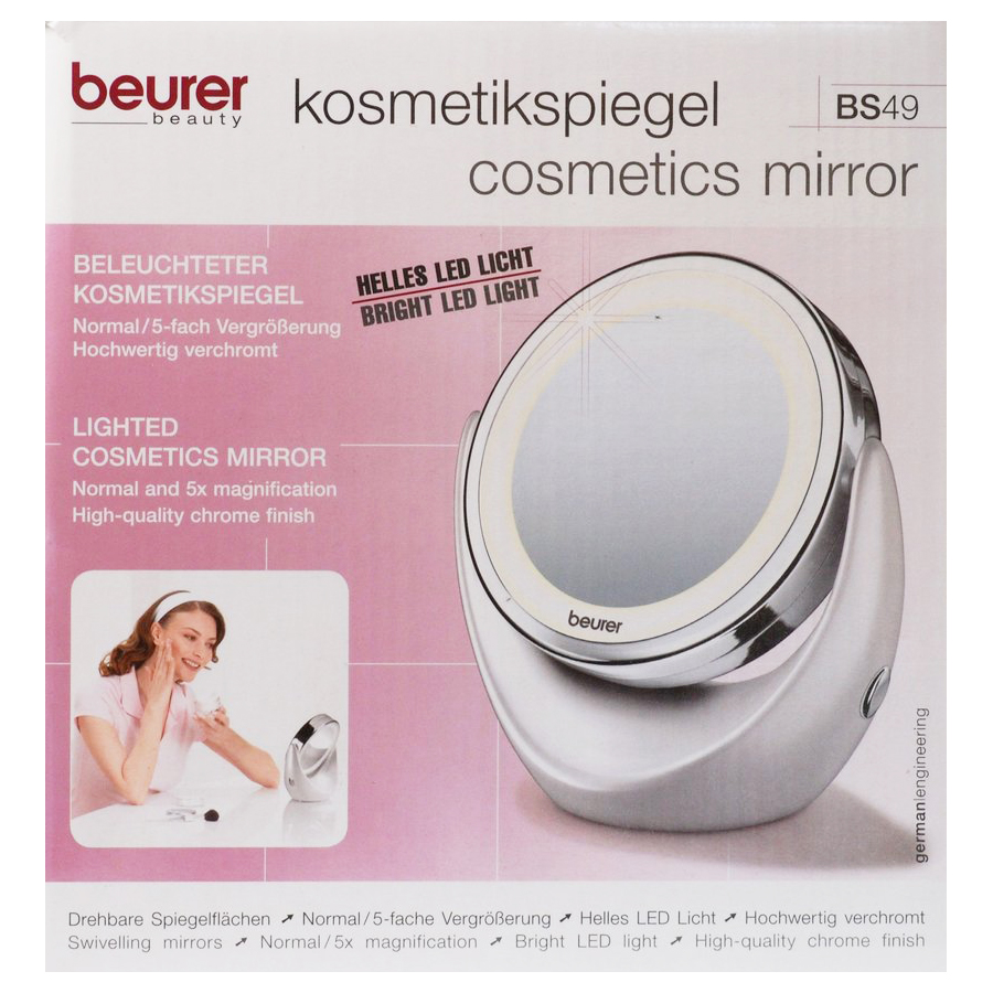 Косметичне дзеркало з підсвіткою Beurer BS 49